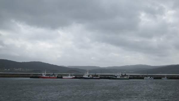 Frota galega amarrada