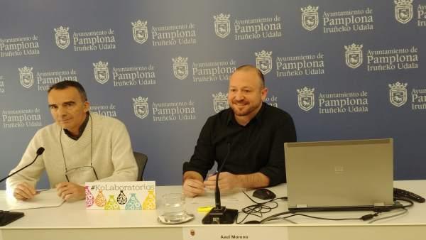 Manuel Millera y Axel Moreno presentan los 'KoLaboratorios'.