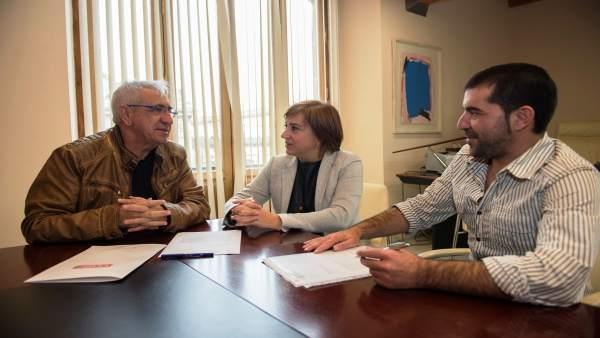 Reunión de CCOO y Junta de Andalucía sobre Memoria Histórica