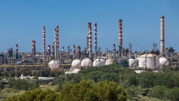Instalaciones de Repsol en Tarragona