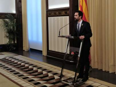 Roger Torrent, presidente del Parlament de Catalunya.