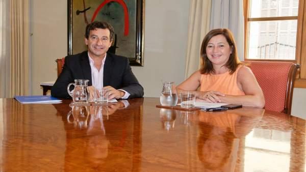 Biel Company y Francina Armengol