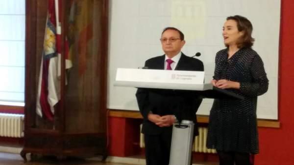 Cuca Gamarra y José María Ruiz-Alejos
