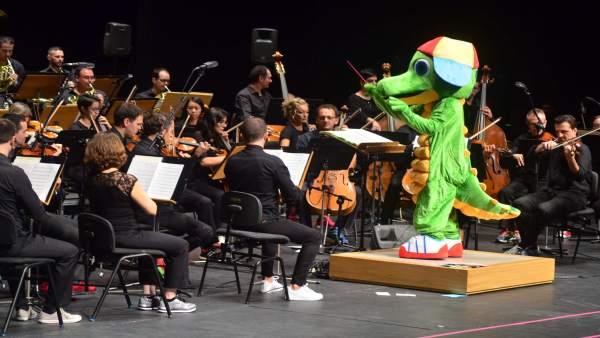 Drilo se une a la OSRM en el espectáculo 'Conciertos en Familia'