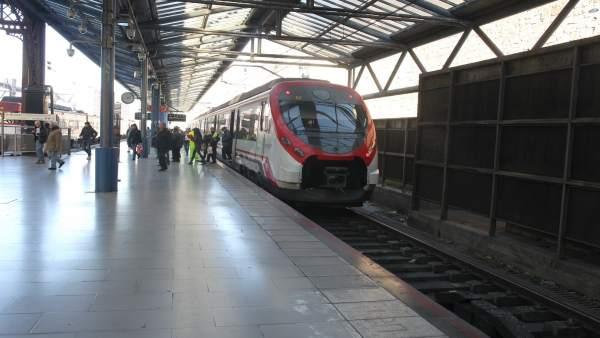 Tren, trenes de Cercanías de Renfe