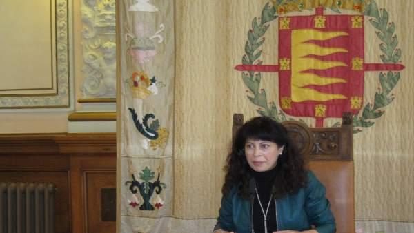 La Concejal de Cultura y Turismo, Ana Redondo