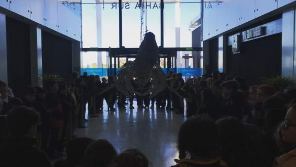 Escolares celebran el Día de la Educación Ambiental en Bahía Sur