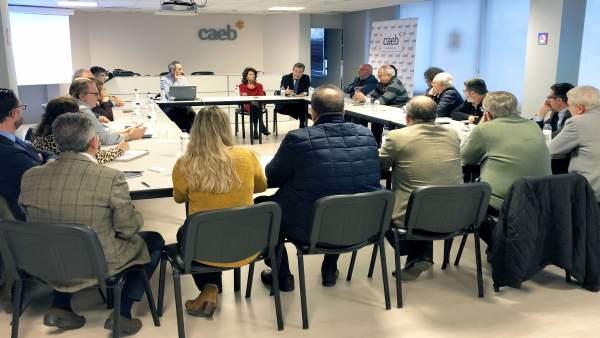 La CAEB reunión sobre el Paseo Marítimo