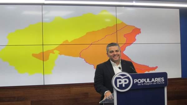 El secretario ejecutivo de Agua, Agricultura y Medio Ambiente, Jesús Cano