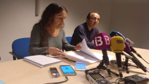 María Ramos En Rueda De Prensa