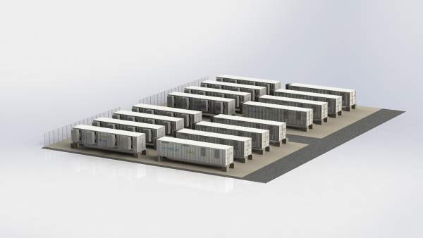 Imagen de como será la futura instalación en obras