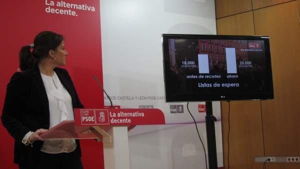 Sánchez informa en rueda de prensa sobre la reprobación a Sáez Aguado