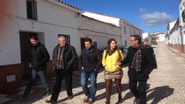 Adjuntamos Nota De Prensa Y Fotos De Hoy, 26 De Enero, Visita Presidente A La Si