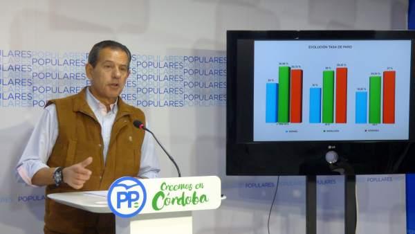 Rafael Merino en rueda de prensa