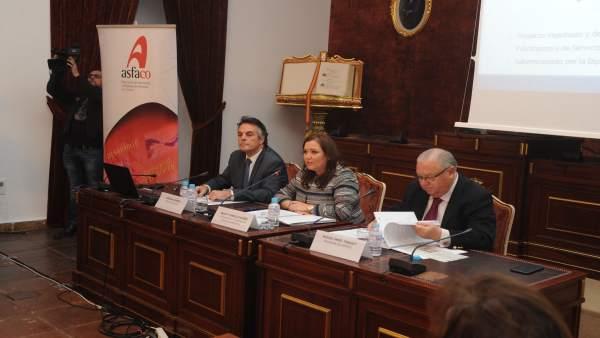 Carrillo, durante la presentación del informe