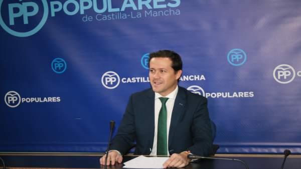 Gpp Clm (Cortes De Voz Y Fotografía) El Portavoz Adjunto Del Gpp, Carlos Velázqu