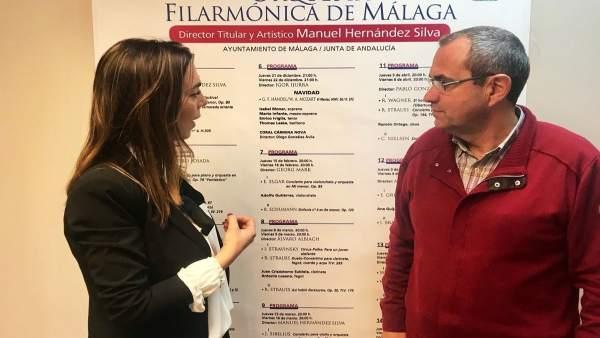 Teresa pardo y juan carlos ramirez orquesta filarmonica malaga