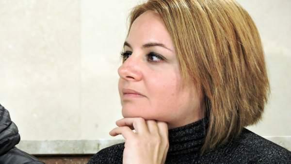 La viceportavoz municipal del PSOE, Carmen Núñez