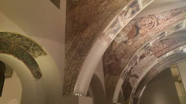 Pinturas murales del Monasterio de Sijena en el MNAC