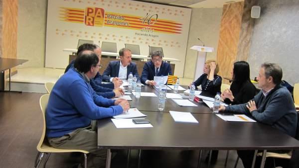 Comisión Permanente Del Partido Aragonés