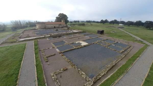 Ciudad romana de Arucci-Turóbriga en Aroche.