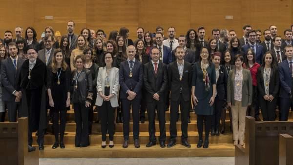 Ceremonia de investidura de los 165 nuevos doctores de la UC