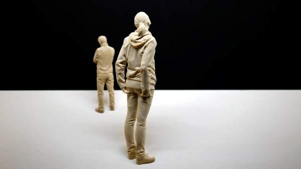 Escultura del artista italiano Peter Demetz