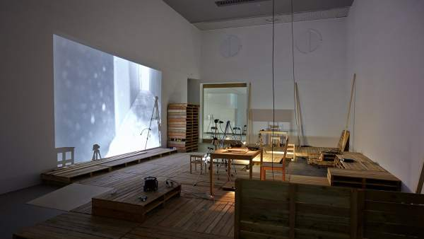 Instalación de Olga Mesa y Francisco Ruiz de Infante