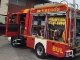 Recurso de coche de bomberos en Andalucía.