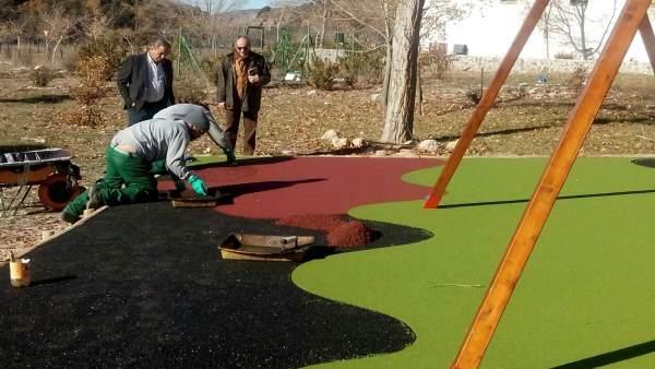 Renovación del área recreativa del Centro de Visitantes Matabejid