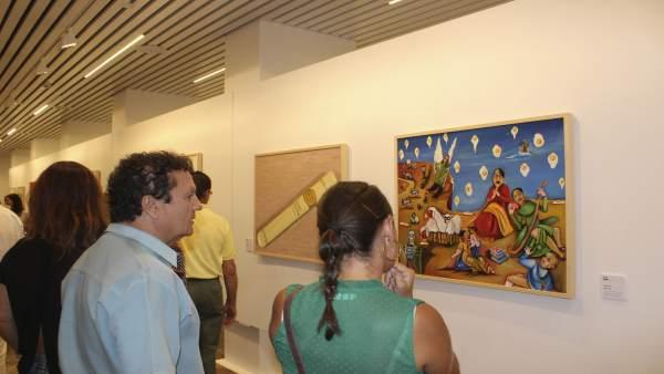 Exposción en la Sala de la Provincia de la Diputación.