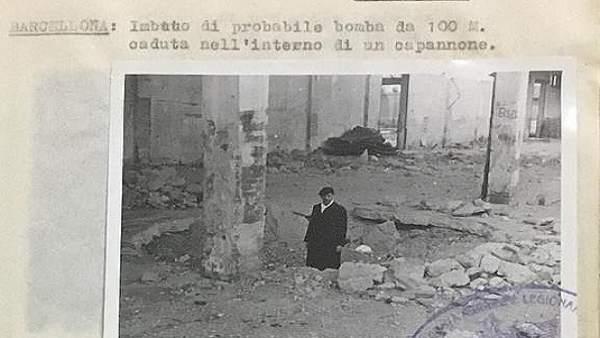 Fotográfico inédito sobre bombardeos aviación italiana en Guerra Civil