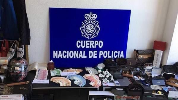 La Policía Nacional desmantela una red de falsificación