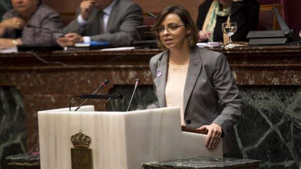 La diputada Inmaculada González
