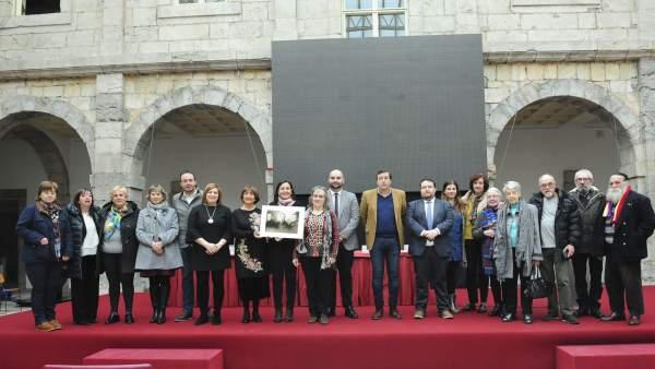 Reconocimiento a las víctimas cántabras del holocausto nazi