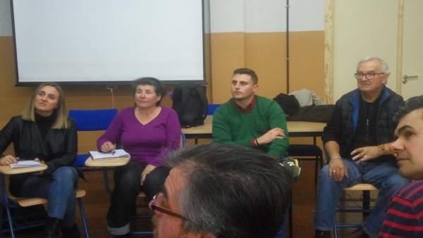 Visita del PP a la Escuela Oficial de Idiomas de Granada