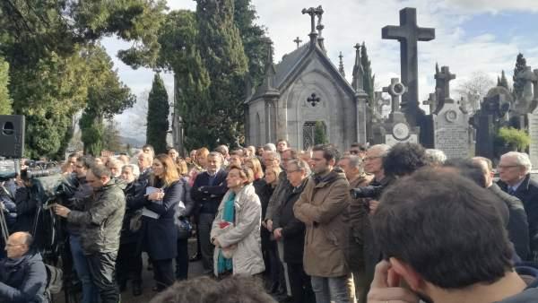 Homenaje a Gregorio Ordóñez en el 23 aniversario de su asesinato por ETA.