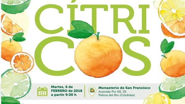 Cartel de la V Jornada Técnica y X Lonja Nacional de Cítricos