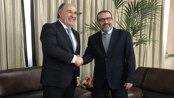 Reunión de alcaldes de Algeciras y Tánger