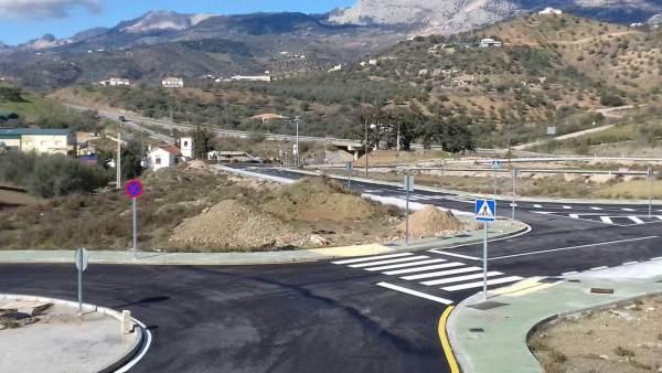 Poligono industrial de Riogordo