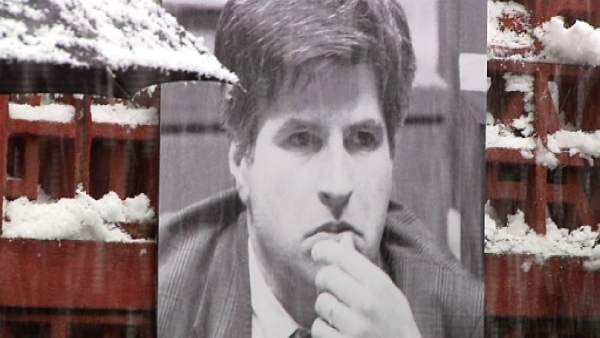 Homenaje a Gregorio Ordóñez en el Parlamento vasco