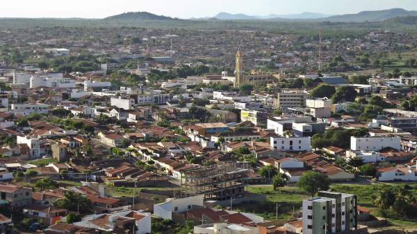 Barrio de Cajazeiras, en Brasil
