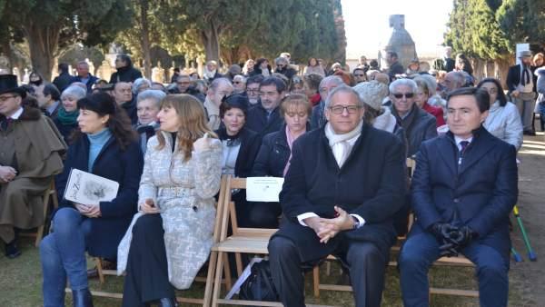 Valladolid.- Homenaje a José Zorrilla
