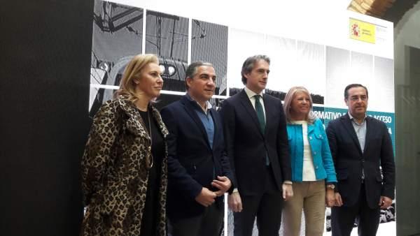Fotos De La Visita Y Acto Del Ministro De Fomento