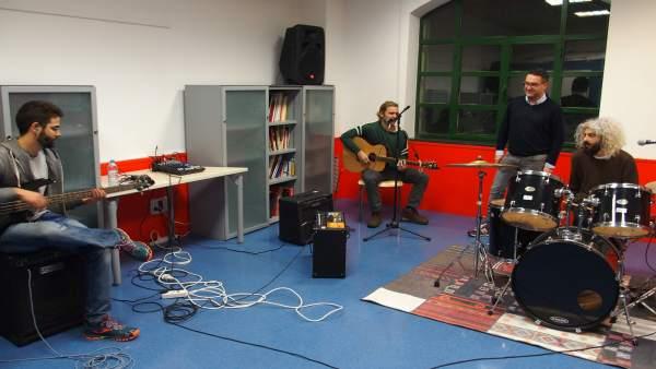 Sala Ensayo Musicos La Gota de Leche
