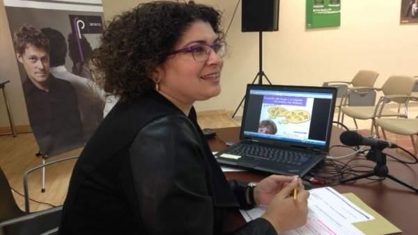 La coordinadora provincial del Instituto Andaluz de la Mujer (IAM), Eva Salazar.