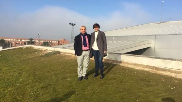 Maximiano Izquierdo y Amparo Pernichi