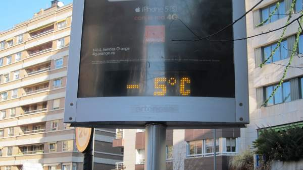 Frío en Castilla y León