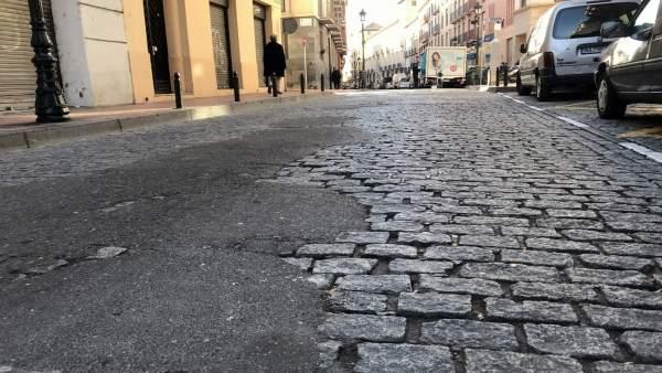PP asegura que ya no caben más parches en las calles Predicadores y San Miguel.