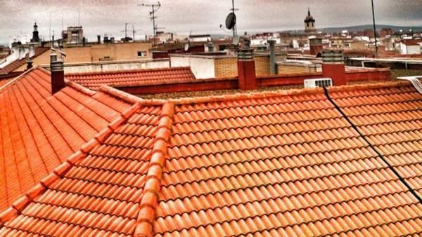Vista ciudad real, tejados